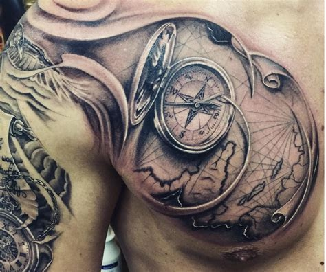 Compass Tattoo Meanings - Ink Vivo
