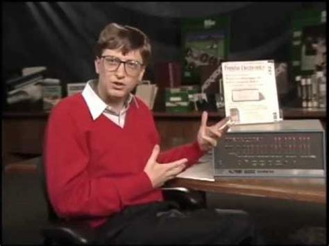Bill Gates talks about Microsoft and the Altair 8800 (1994
