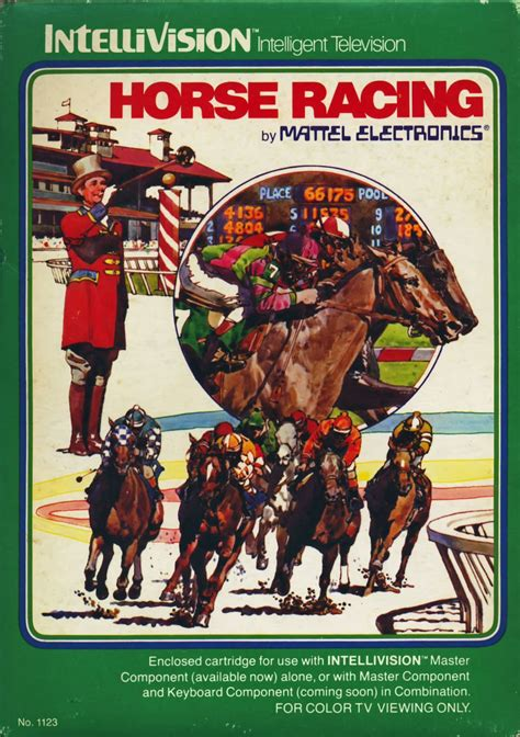 Horse Racing for Intellivision (1980) - MobyGames
