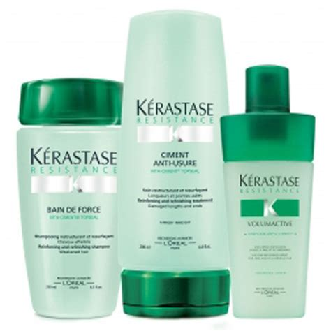 Kérastase Strengthening Hair Pack (3 Products) - FREE Delivery