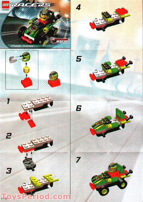 LEGO 4590 Flash Turbo Set Parts Inventory and Instructions