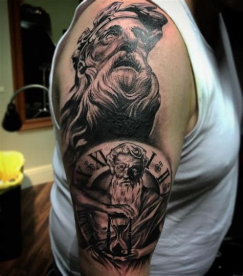 50 Greek Tattoos Inspired From Ancient Mythology (2018