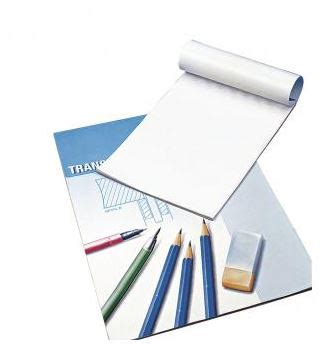 Tracing paper, 80 g/m2, str A3, 25 ark - HOBBYKUNST NORGE