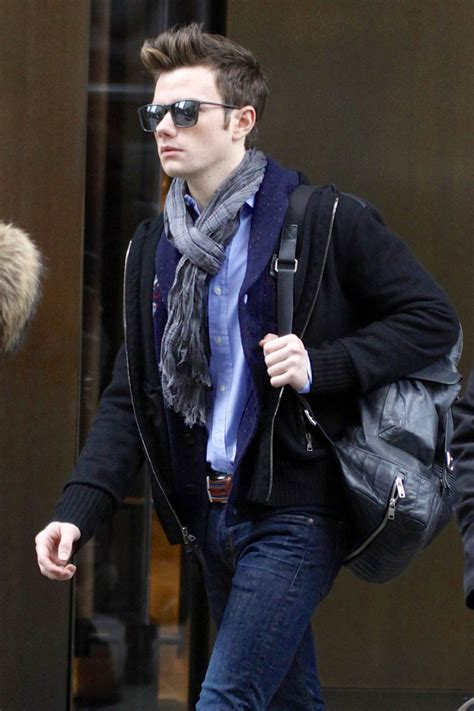 Chris Colfer Spotted in NYC - Zimbio