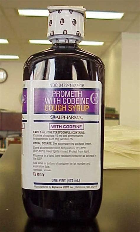 The intoxicating codeine-soda mix known by its slang name