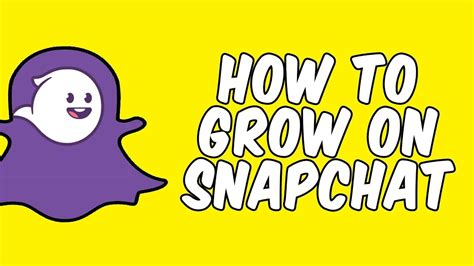 How to get hundreds of Snapchat followers and high