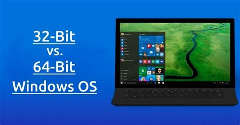 32 Bit Vs 64 Bit Windows OS: What Is The Difference? How