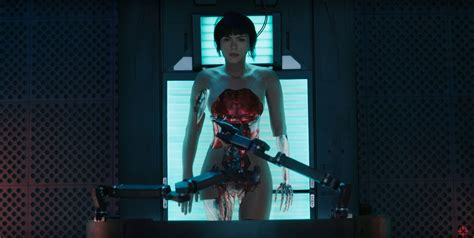 New Ghost in the Shell trailer reveals the origins of The