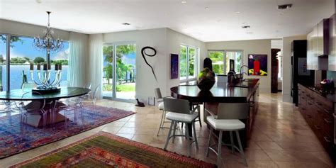 Open Concept Kitchen & Dining Area With Waterfront View | HGTV