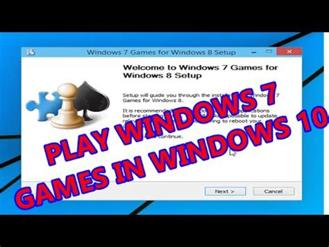 Play Solitaire, Chess Titans like Classic Windows 7 Games