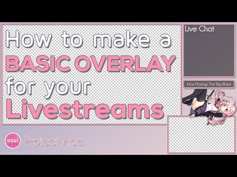 TWITCH STREAM OVERLAY TEMPLATE 2018 #5 - YouTube
