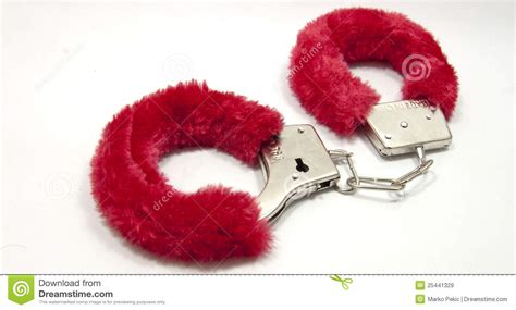Sex Handcuffs Royalty Free Stock Images - Image: 25441329