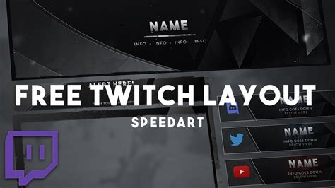 Twitch Overlay and Layout Design [FREE DOWNLOAD] Twitch