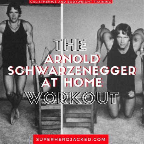 Arnold Schwarzenegger Home Workout: Arnold Releases His
