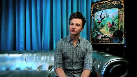 Chris Colfer introduces THE LAND OF STORIES - YouTube
