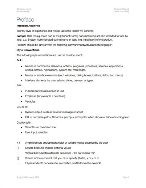 User Guide Template (Apple iWork Pages) – Templates, Forms