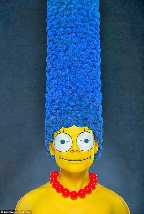 MakeUp at its best - Marge Simpson lebt