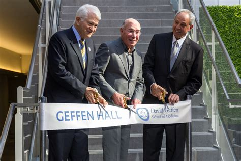 Photo: Geffen Hall opens as new center for medical
