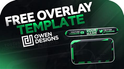 Best Free Overlay Template - Twitch/Youtube - Photoshop