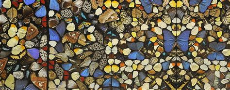 [PAINTING] [COLLAGE] Damien Hirst Real Butterflies