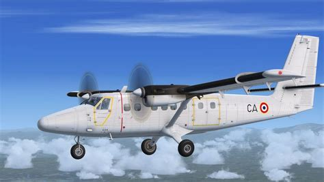 French Air Force Twin Otter for FSX