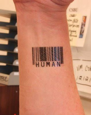 Awesome Barcode Tattoos Art ~ CRAZY PICS