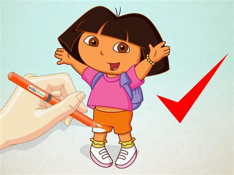 How to Draw Dora the Explorer: 11 Steps (with Pictures