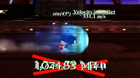 Game Science Episode 1: How Fast Can Sonic Run? - YouTube